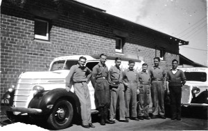 Delivery Vans & drivers 1938
