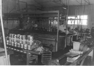 Cheese room 1957