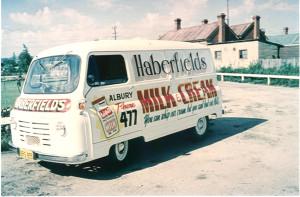 Delivery van Austin  1959