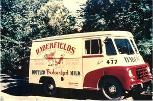 Delivery van Austin 30CWT 1957