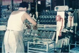 Milk Packaging Room  Bottle Washing Andy Bourdis 1965