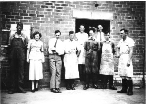 Office Staff & Factory Staff 1951, Frank Daley, Doreen Kelle