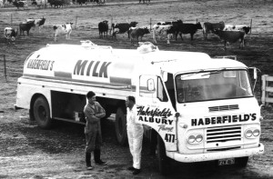 Tanker Ron at Ron Rapsey's farm Bonegilla 1962 - Version 2