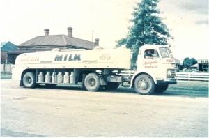 Tanker, Ron in First Farm pickup 1960
