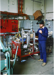 Cheese Packing room Colin Duel fitter 1991
