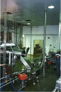 Cheese room Vacuum transfer to towers 1995