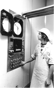 Milk Pasturiser operator 1980